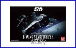 STAR WARS 1/72 B-Wing Starfighter Model Kit Bandai