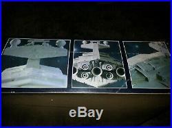 STAR WARS 3 AMT ERTL sealed model kits STAR DESTROYER, DEATH STAR, SPEEDER BIKE