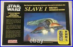 STAR WARS Fine Molds 1/72 Boba Fett SLAVE 1 Model Kit
