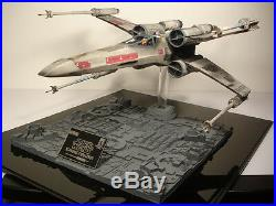 STAR WARS ICONS X-Wing TIE Fighter DEATH STAR TILE BASE 1/24 STUDIO SCALE MODEL