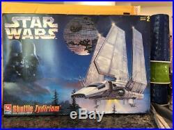 STAR WARS Imperial Shuttle Tydirium Model Kit AMT Ertl Vintage Vader Jedi Space