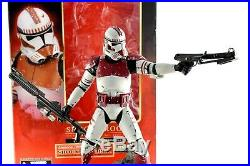 STAR WARS Kotobukiya Artfx 17 Shock Trooper Soft Vinyl Model Kit Figure BOXED