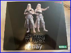 STAR WARS Snow-trooper Two Pack 110 Model Kit NIB KOTOBUKIYA ARTFX+ Lucasfilm