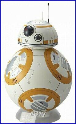 STAR WARS The Force Awakens 1/2 BB-8 LED DisplayBase Model Kit BANDAI