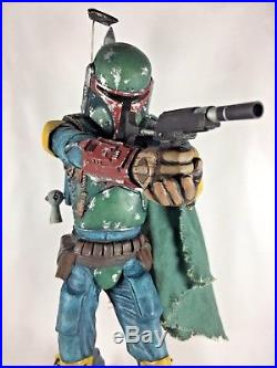 Screamin 1994 Star Wars BOBA FETT 1/4 Scale COMPLETED! Model Statue AUTOGRAPHED