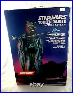 Screamin' / Star Wars / 1/4 scale Vinyl Model Kit / Tusken Raider / New in Box