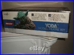 Screamin Star Wars Yoda Vinyl Model Kit 1/4 Scale Unmade In Box