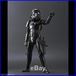 Shadow Stormtrooper Modellbausatz 1/6 von Bandai 30 cm, Star Wars Model Kit