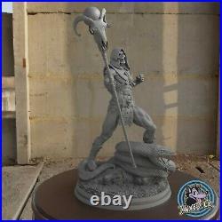 Skeletor Snake Masters Of The Universe Figure Custom Resin Model Kit DIY Paint