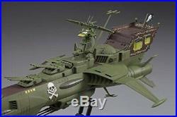 Space Pirate Battleship Arcadia Captain Harlock Dimension Voyage Model kit