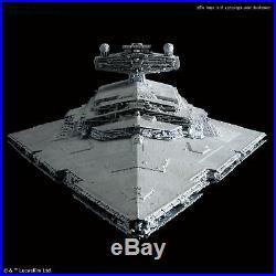 Star Destroyer 1/5000 Bandai Star Wars Plastic Model Kit NEW From Japan