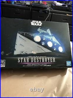 Star Destroyer 1/5000 Kit NEW Bandai STAR WARS Lighting Model Limited FS