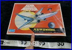 Star Warrior X Space Fighter Vintage Model Kit Crown Star Wars