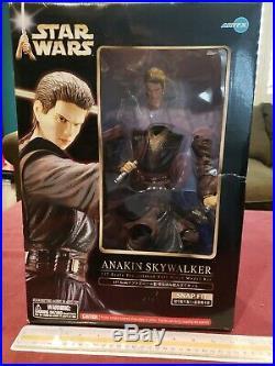Star Wars 1/7 Anakin Skywalker Soft Vinyl Model Kit Kotobukiya ArtFX NIB