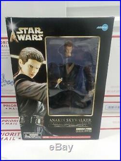 Star Wars 1/7 Anakin Skywalker Soft Vinyl Model Kit Kotobukiya ArtFX NIB 2002