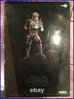 Star Wars 1/7 Scale Commander Cody Light Up Ver. Pre Painted Model Kit ARTFX