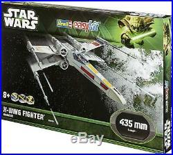 Star Wars 7 VII Figure X-Wing Fighter 43CM Easykit Easy Model Kit 1/30
