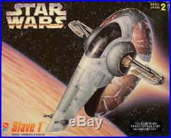 Star Wars AMT Boba Fett Slave 1 Model Kit NEW Sealed