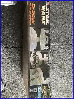 Star Wars AMT Model Kit Star Destroyer With Fiber Optic Lighting Sealed EM2131