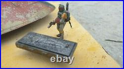 Star Wars AMT model kit. Slave 1, Boba diorama, Expertly painted, weathered