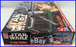 Star Wars A New Hope X-wing Fighter Model Kit By Amt/ertl (mi)