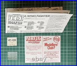 Star Wars A-Wing Fighter 1/48 Scale Model Kit by AMT / MPC