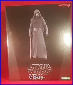Star Wars Artfx Kylo Ren Statue 1/10 Scale Pre Painted Model Kit