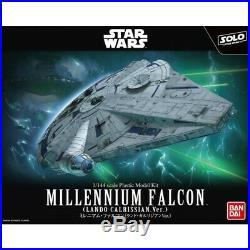 Star Wars BANDAI Millennium Falcon Solo 1/144 Scale Plastic Model Kit