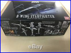 Star Wars B-Wing STARFIGHTER 1/72 scale color-coded model Plastic Model Kit