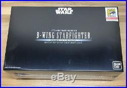 Star Wars B-Wing Starfighter 1/72 Scale Model Kit BANDAI SDCC Limited Edition