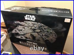 Star Wars Bandai Perfect Grade Model Kit 1/72 Millennium Falcon, BRAND NEW