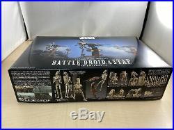 Star Wars Battle Droid & Stap 1/12 Scale Plastic model