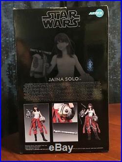 Star Wars Bishoujo Kotobukiya Artfx 17 Scale Jaina Solo Pre-Painted Model Kit
