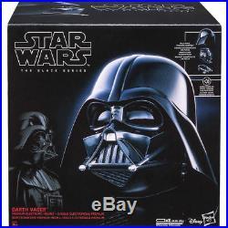 Star Wars Black Replica Helmet Accessory Darth Vader Voice Changer Helmet