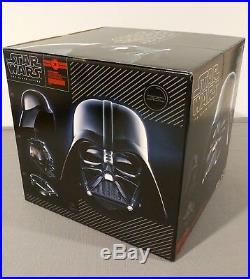 Star Wars Black Series Darth Vader Premium Electronic Helmet Rare Brand New