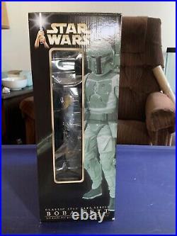 Star Wars Boba Fett Statue / Model Kit From Kotobukiya New In Box