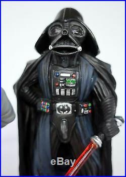 Star Wars DARTH VADER + GRAND MOFF TARKIN Superdeformed SD Model Kit PRO BUILDUP