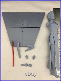 Star Wars Darth Elsa And Jedi Anna Resin Model Kits 1/8 Scale