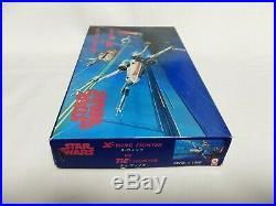 Star Wars ESB Diecast Model Kit X-WING VS TIE FIGHTER TSUKUDA Japan 1982