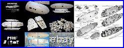Star Wars Giant Studio Scale Rebel Transport Resin Model kit 27