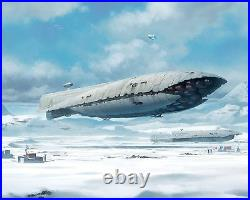 Star Wars Giant Studio Scale Rebel Transport Resin Model kit Over Two Feet Long