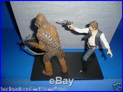 Star Wars Han Solo & Chewbacca Figures ARTFX+ Kotobukiya 1/10 Scale Model Kit