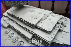 Star Wars Imperial Star Destroyer 2 foot long Zvezda built up model kit