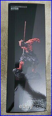 Star Wars Kotobukiya ARTFX Darth Maul Japanese Ukiyo-E Statue Model Kit NEW MISB