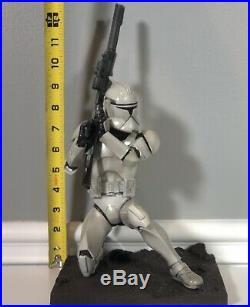 Star Wars Kotobukiya ARTFX Phase 1 Clone Trooper 1/7 Statue Vinyl Model Kit