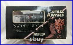 Star Wars Kotobukiya ArtFX DARTH MAUL Pre-Painted Soft Vinyl Snap-Fit model Kit