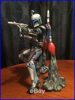 Star Wars Kotobukiya Artfx 17 Scale Jango Fett Pre-Painted Model Kit