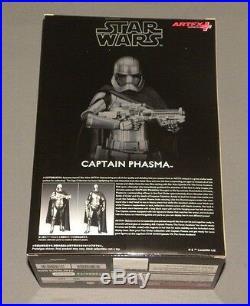 Star Wars Kotobukiya Captain Phasma The Force Awakens 1/10 Model Kit ArtFX