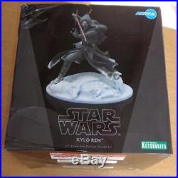 Star Wars Kylo Ren 1/7 Scale Pre Painted Model Kit Statue Kotobukiya ArtFX