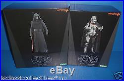 Star Wars Kylo Ren & Captain Phasma ARTFX+ Kotobukiya Figures/Statue Model Kits